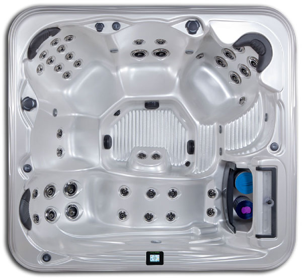 NEVIS Hot Tub by Artesian Spas Island Series