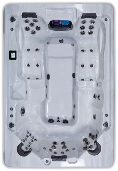 BIMINI Hot Tub by Artesian Spas Island Series