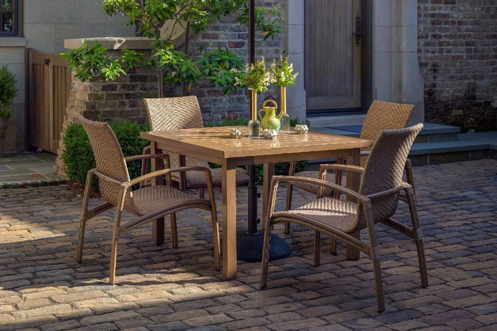 LUNA Aluminum Lounge & Dining Collection by Summer Classics Outdoor Furniture