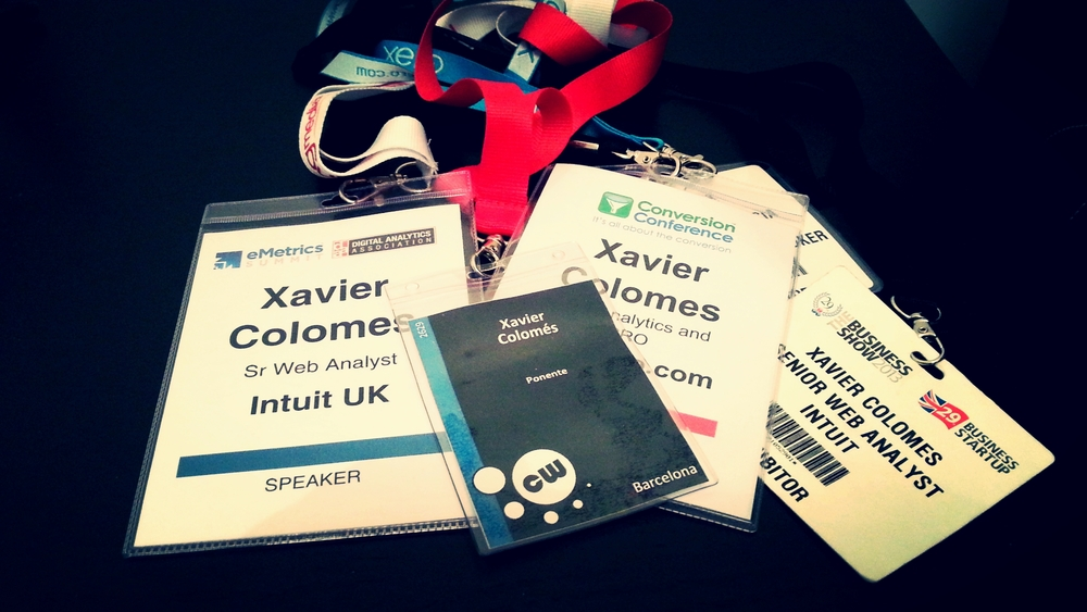 Xavier is a regular in Digital Marketing events and conferences in both sides of the stage.