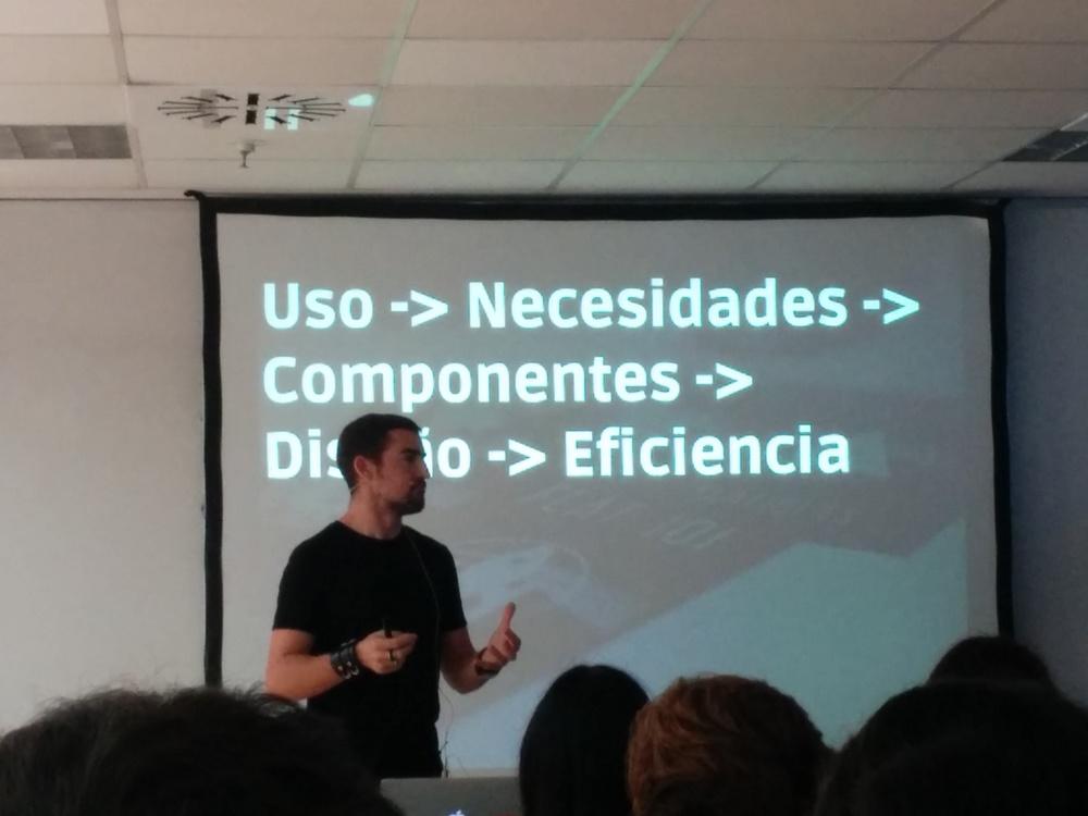Ricardo Tayar en el UWA