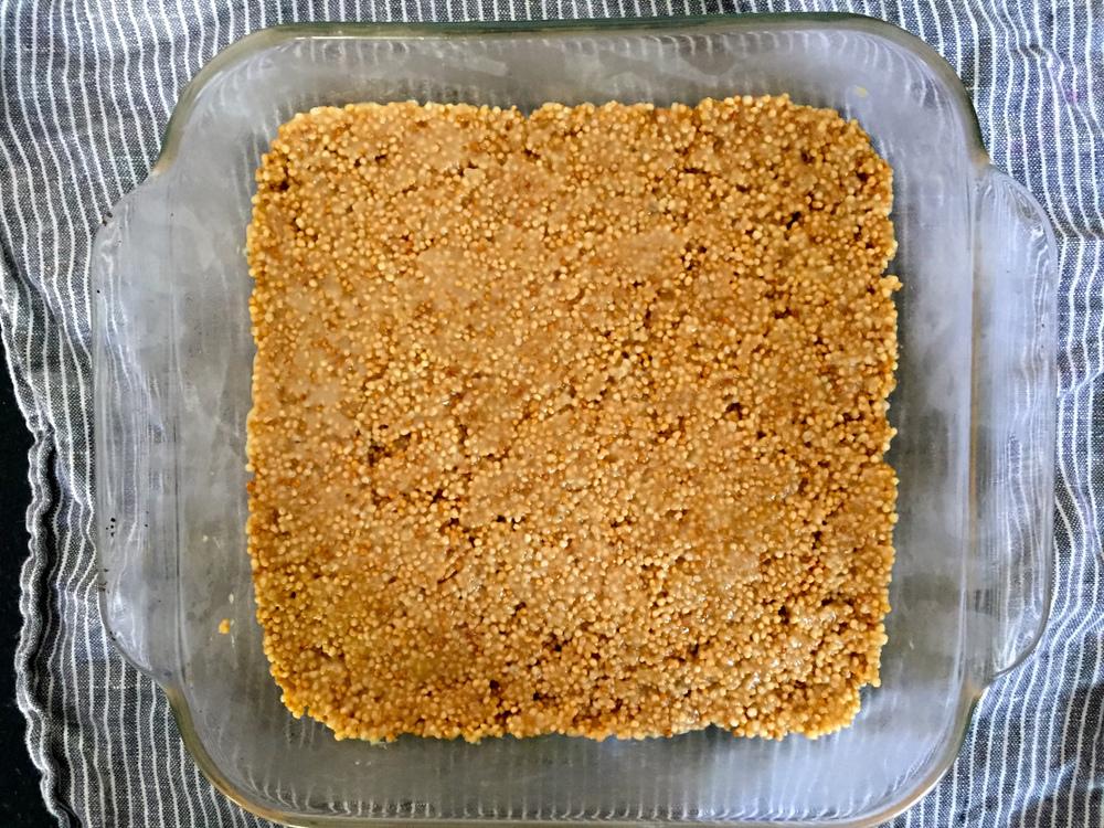 quinoa crispy treat
