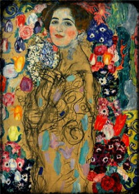 Portrait of Ria Monk by Gustav Klimt