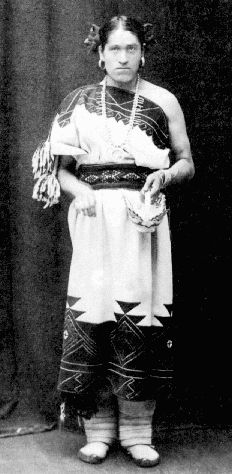 We'wha was a Zuni Native American from New Mexico. She was the most famous lhamana (Zuni term for two-spirit) and served as a crafter, spiritual mentor, and cultural ambassador for her people.