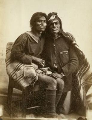 two-spirit Navajo couple