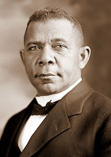 Booker T. Washington, president of Tuskegee Institute, is the first African American to be awarded an honorary degree by Harvard University. Born into slavery in Virginia, Washington moved to Alabama in 1881 to open Tuskegee Normal School. He soon gained fame as an educational leader among black Americans, a fact which Harvard recognized with a Master of Arts degree.