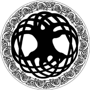 a Celtic representation of wholeness / good candidate for a tramp stamp