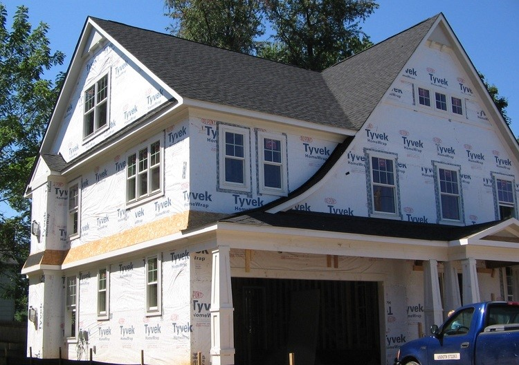 very attractive home construction and design. If you are walking near a construction site can often times see some  pretty cool details A Mansard Roof be very attractive design feature Home Renovation Ideas Curved Framing and Roofs Mangan