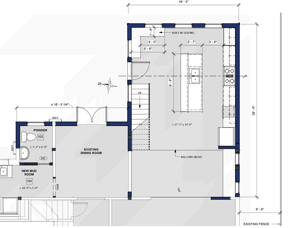 Schematic Design of a new kitchen