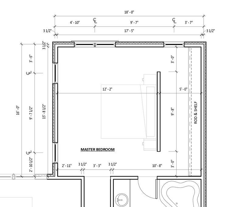 The blueprint blog by mangan group architects mangan group master bedroom floor plan malvernweather Choice Image