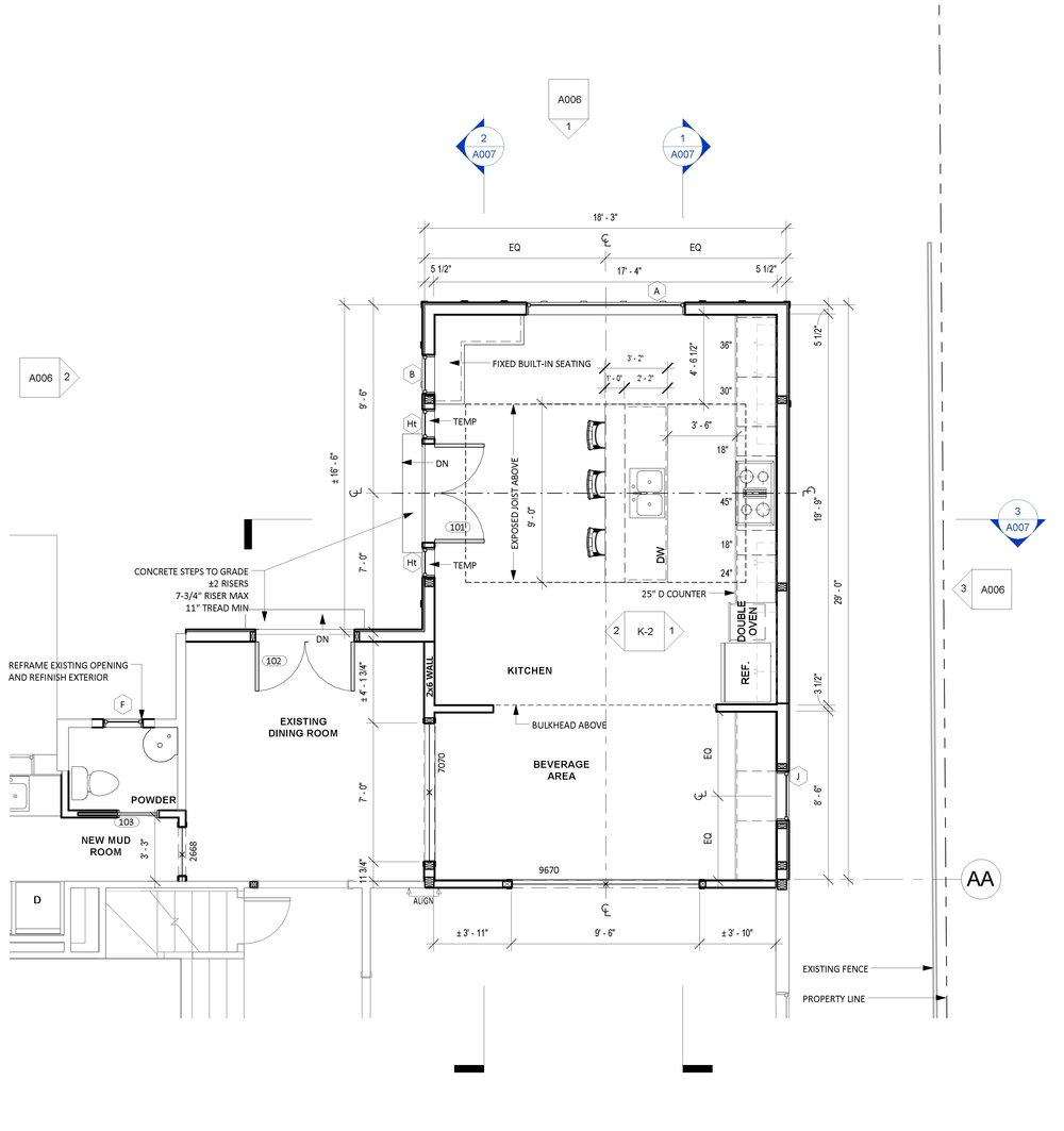 How to read floor plans mangan group architects for How to read a floor plan
