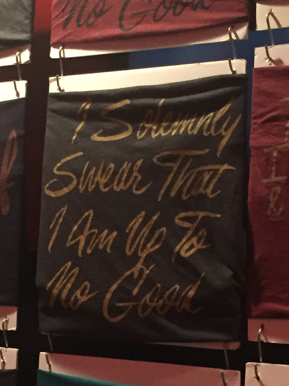 I snagged this tee from Pottercon by  Jordanene  a fan gals dream! Post coming soon!