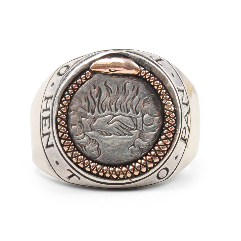OUROBOROS SIGNET RING Digby & Iona