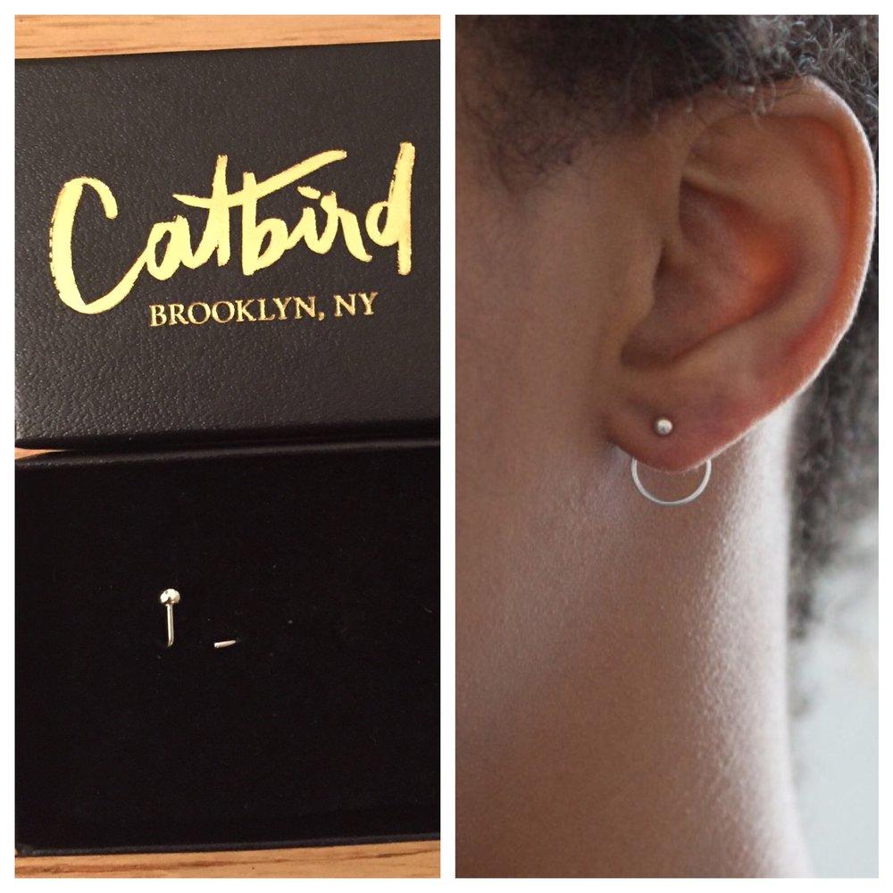 Jack + G Ear Nut Earring from Catbird