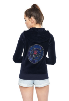 "LIMITED EDITION DISNEY BEAUTY & THE BEAST ""STAINED GLASS ROSE"" EMBELLISHED ROBERTSON JACKET   $698.00"