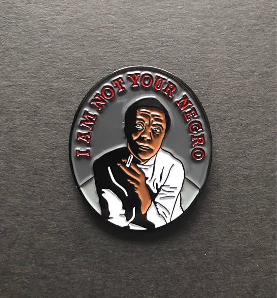 James Baldwin - Soft Enamel Pin $12