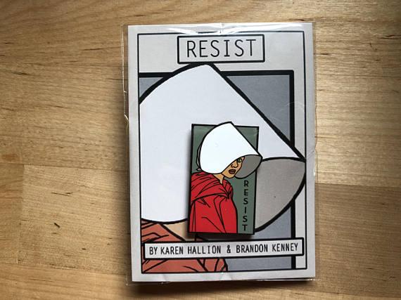 HANDMAID RESIST PIN $15