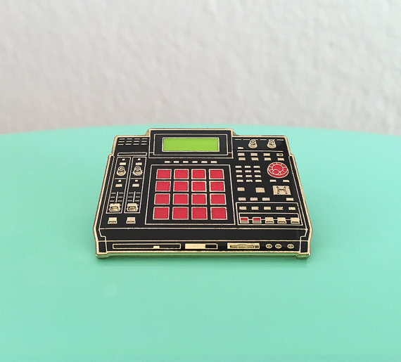 MPC 2500 Drum Machine Enamel Pin $12.68