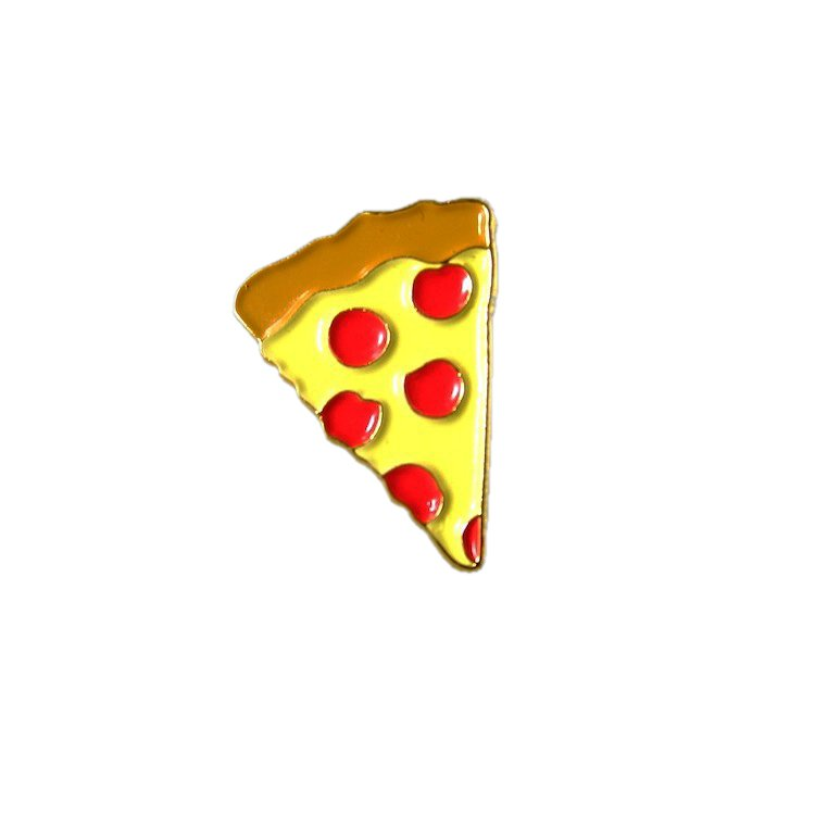 PIZZA EMOJI LAPEL PIN $5