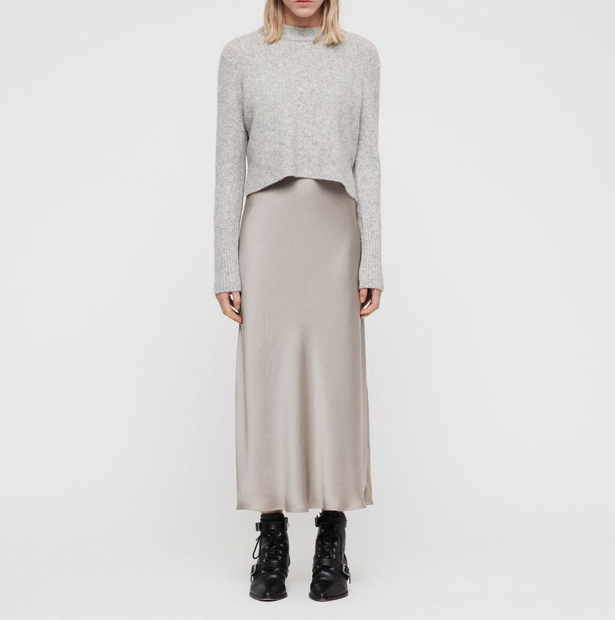 ALLSAINTS Tierny Two-Piece Sweater & Slipdress