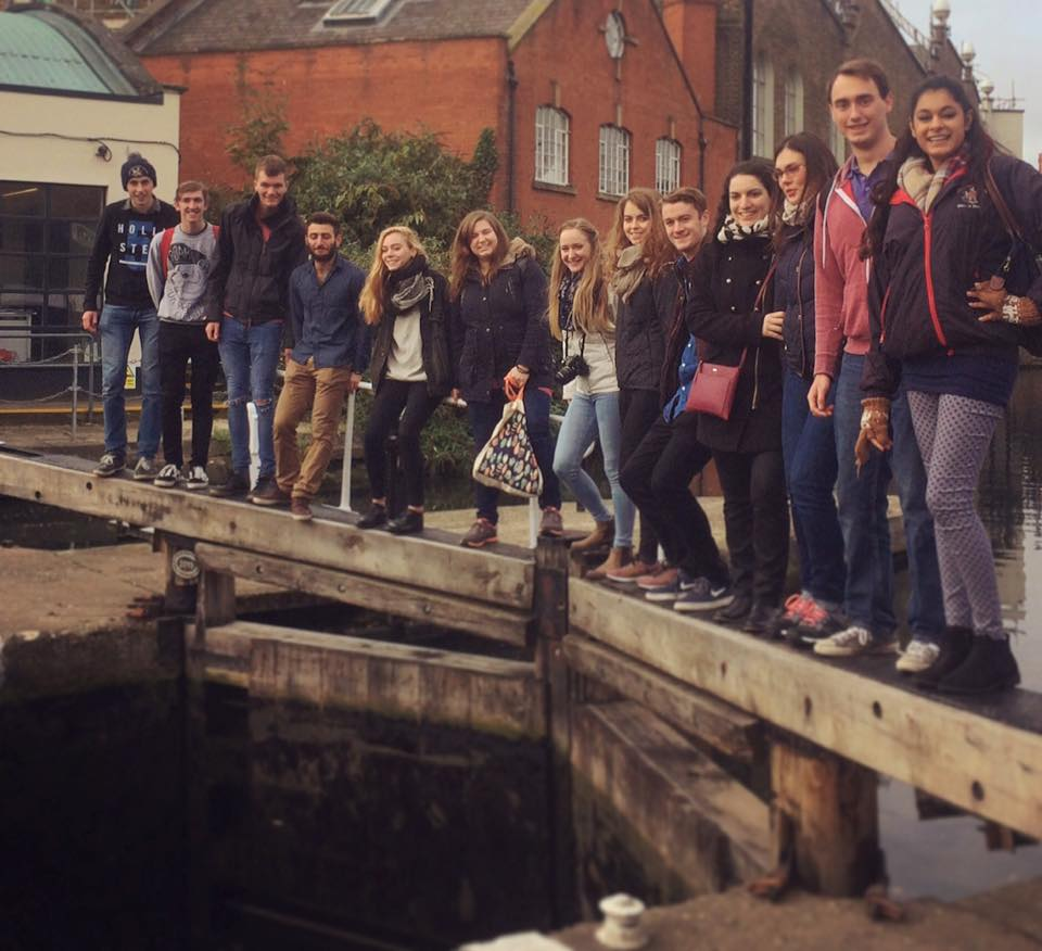 The Intrepid IVSA Group at a Camden Lock
