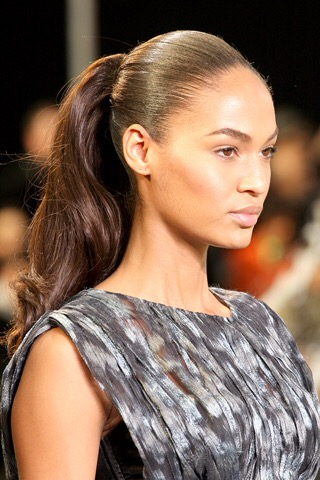 Smooth and Tight ponytail with body!    5.