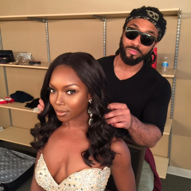 Hair Styling: Jonathan Abernathy  Miss Illinois USA 2017 Whitney Wandland