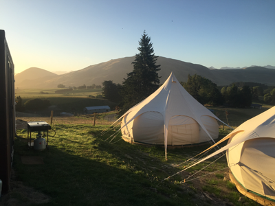 Luxury Camping set up for you in Southland and Otago - unique holiday options