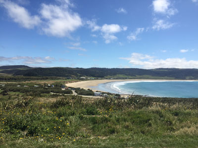 Catlins Accommodation - Curio Bay Accommodation in a Luxury Glamping Site - Luxury Tent Accommodation in the Catlins