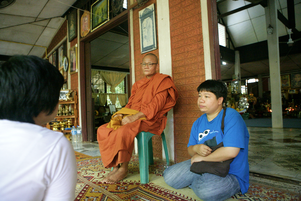 Khun Yai Pom Awaits the Head Monk.jpg