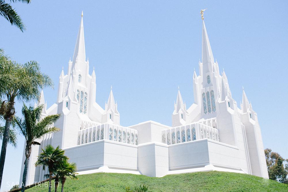 San Diego California LDS Temple Wedding Taylor Deanna Sarah Tribett Photographers