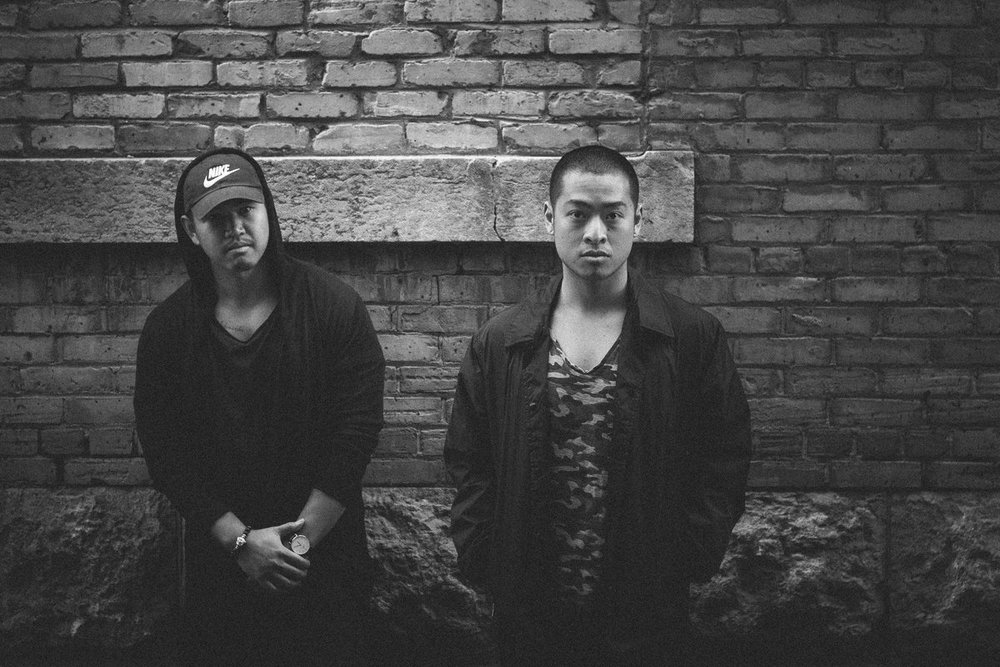 Jeah (left) and Merv xx Gotti of DGS Samurai Champs