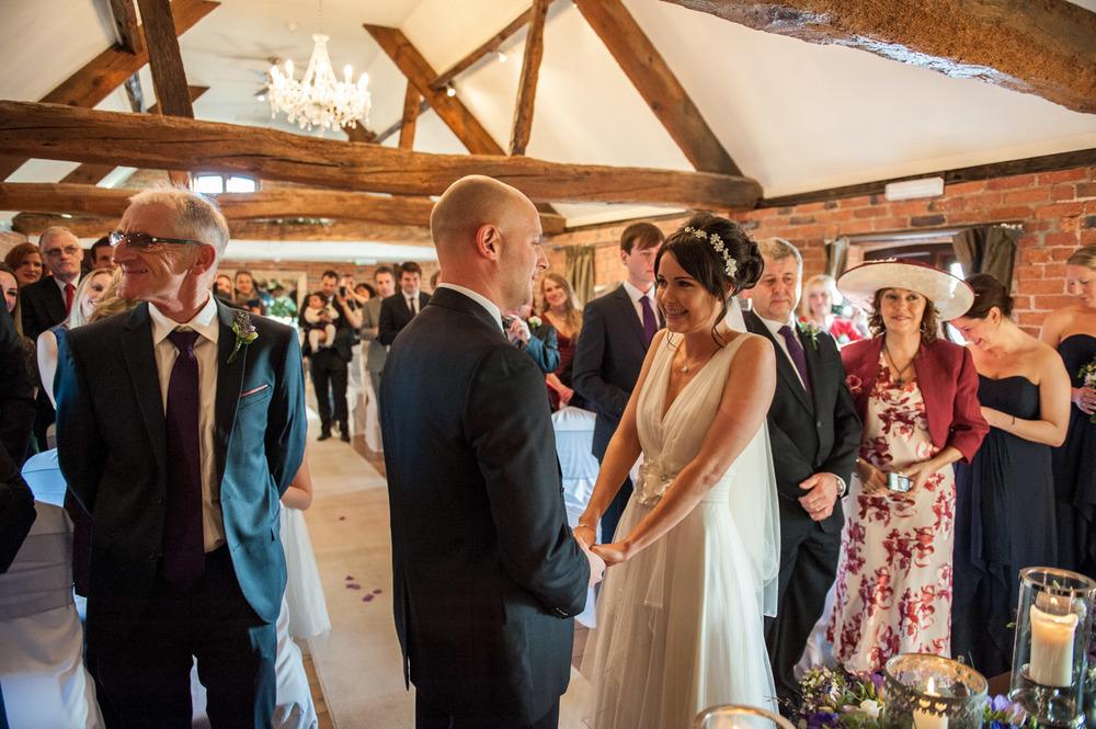 Wedding photography at Swancar Farm