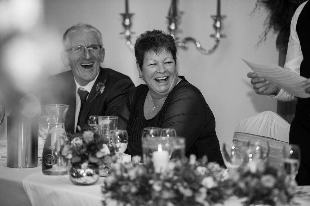 Speeches at Swancar Farm wedding