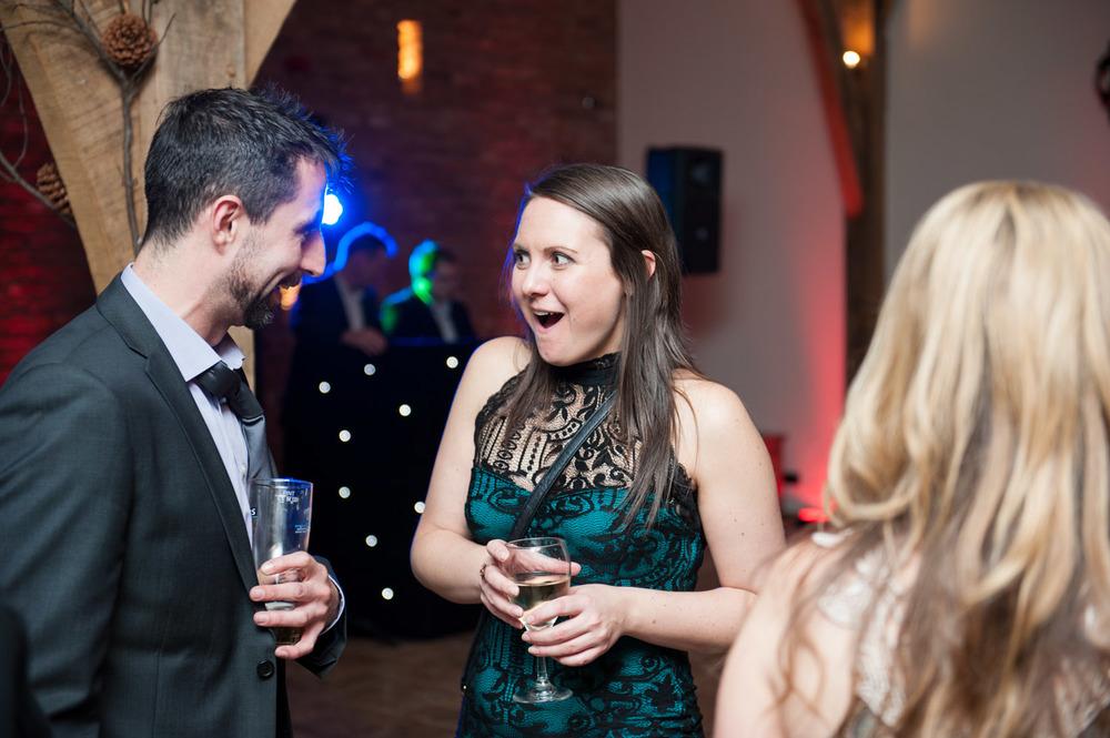 wedding reception at Swancar Farm