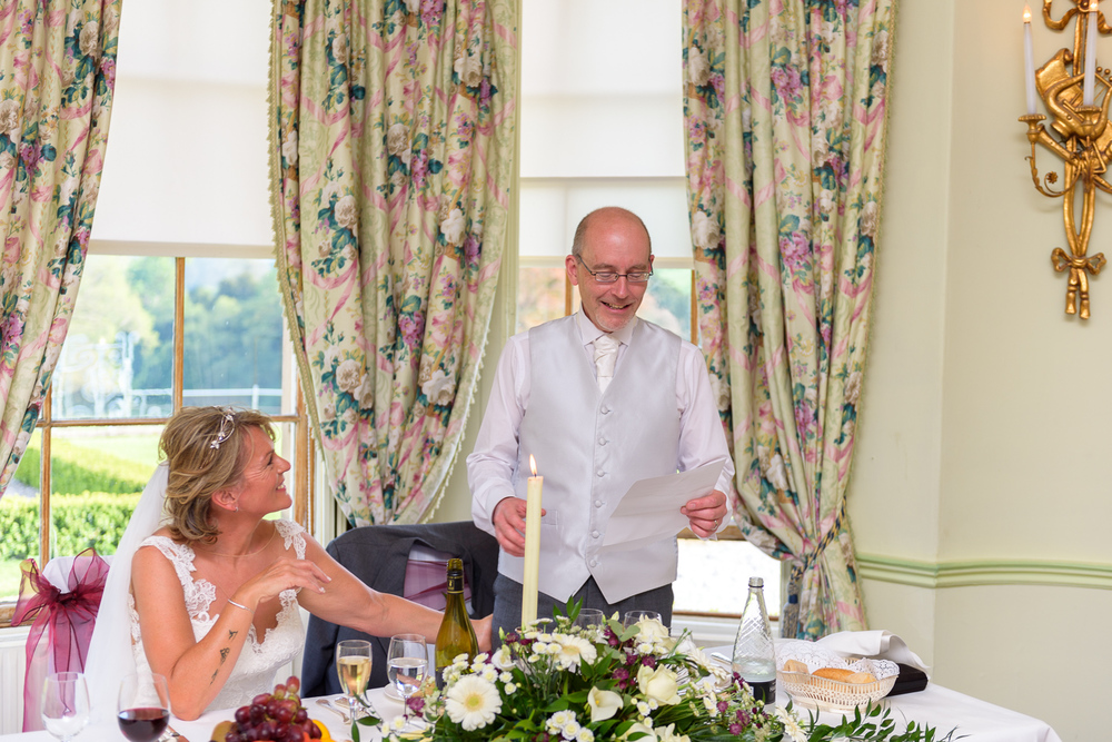 grooms speech at hassop hall