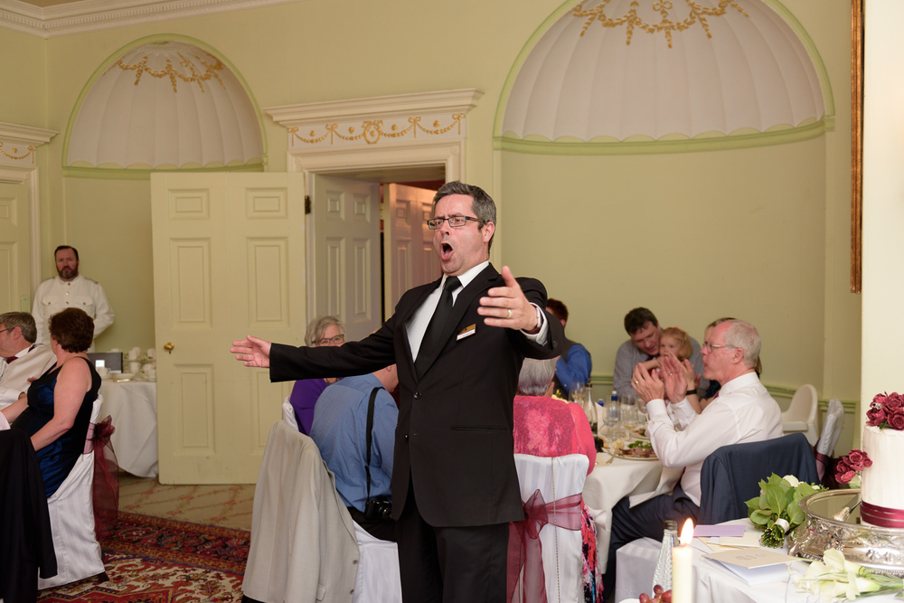 wedding singers at hassop hall