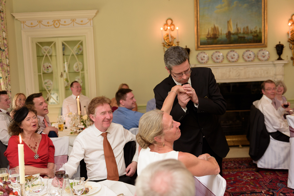 singing waiters at hassop hall