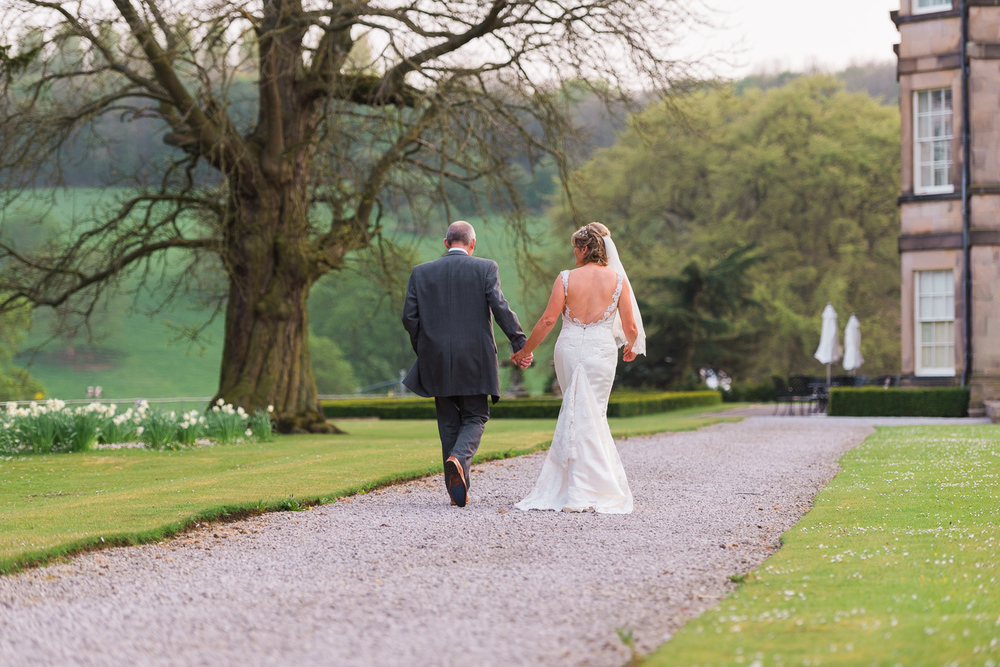 hassop hall wedding photography