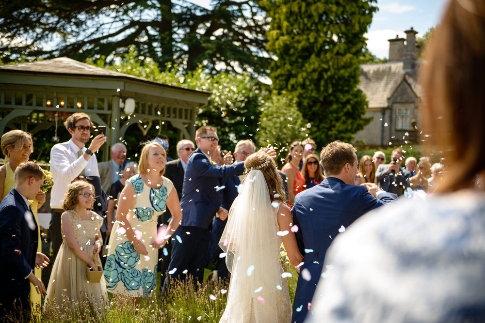 Callow Hall wedding day