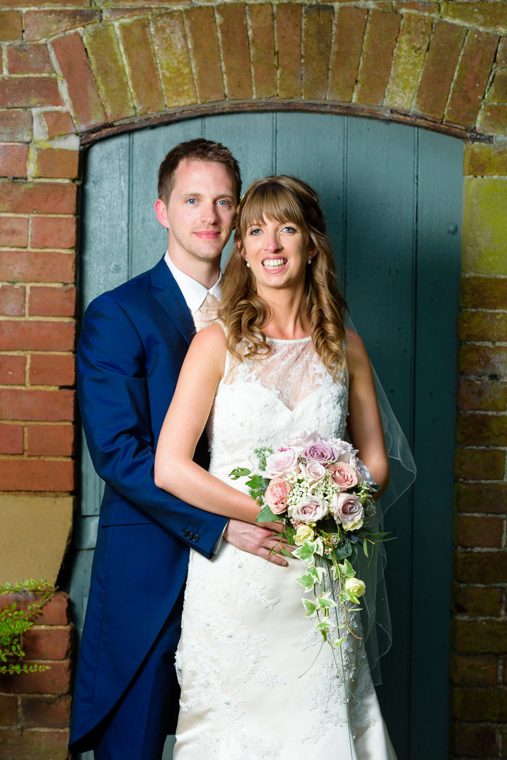 Wedding portrait at Callow Hall