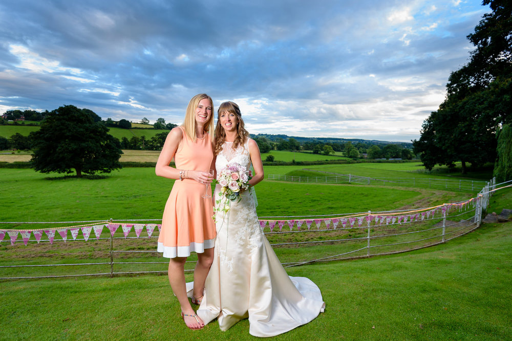 Callow Hall wedding