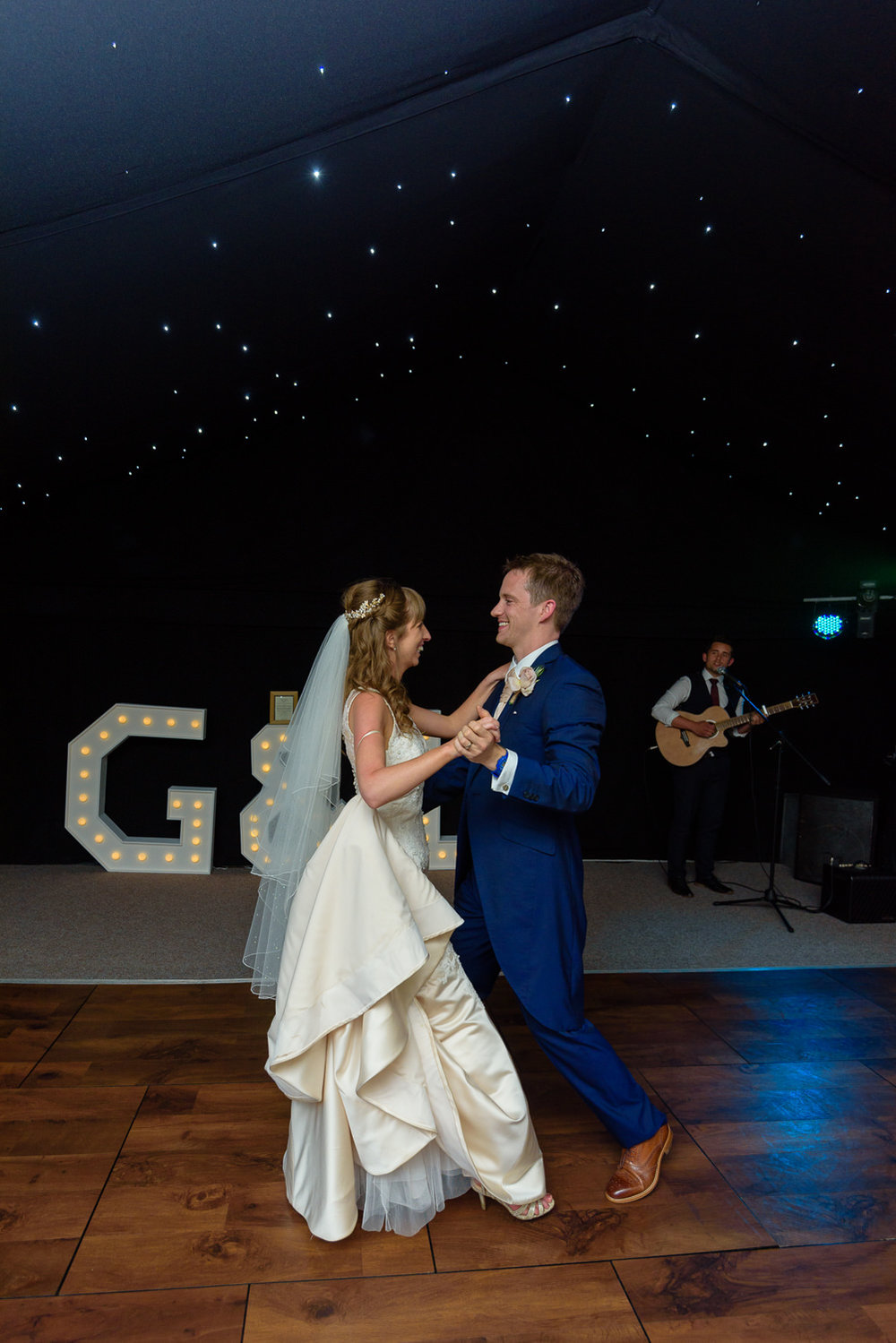 First dance at Callow Hall