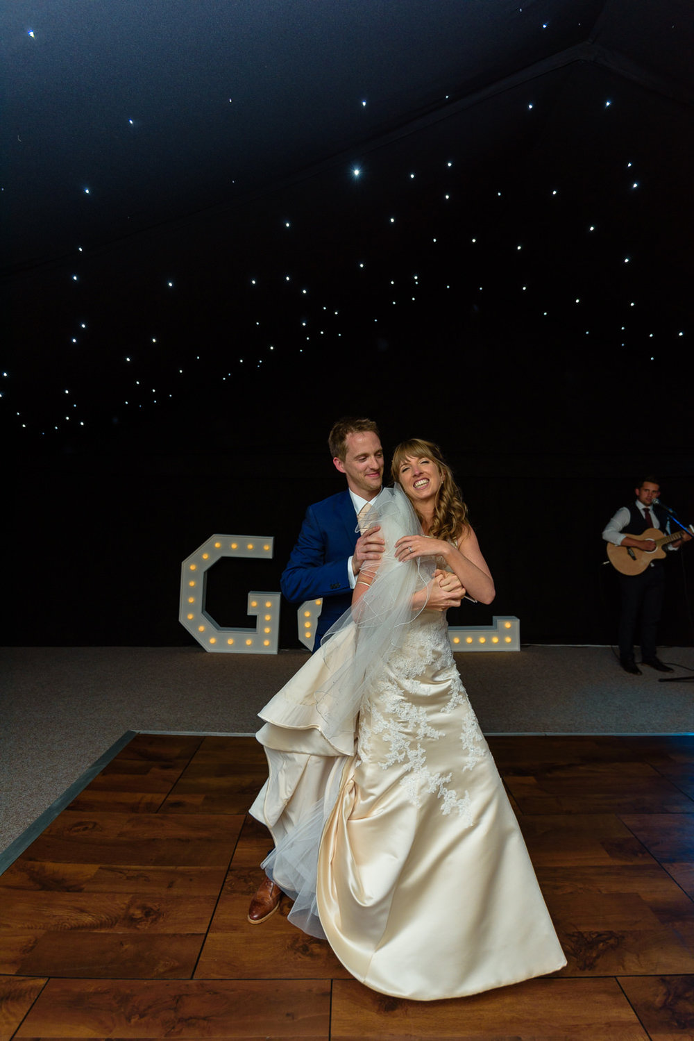 Callow Hall first dance
