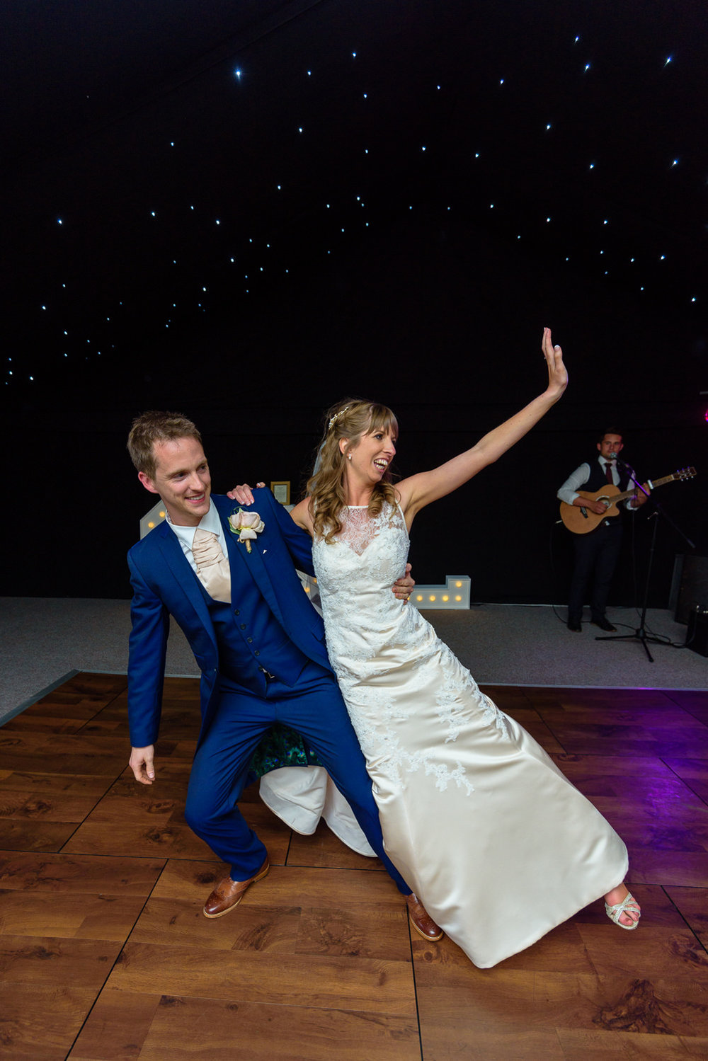 First dance at Callow Hall wedding