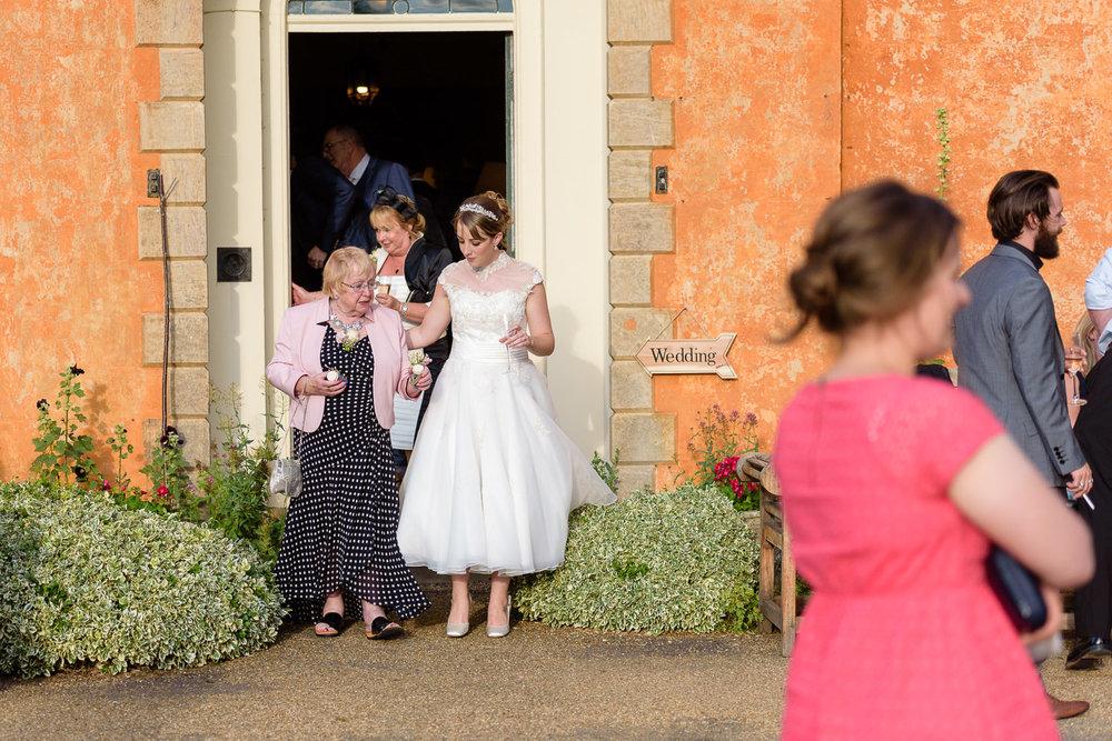 Langar Hall summer wedding