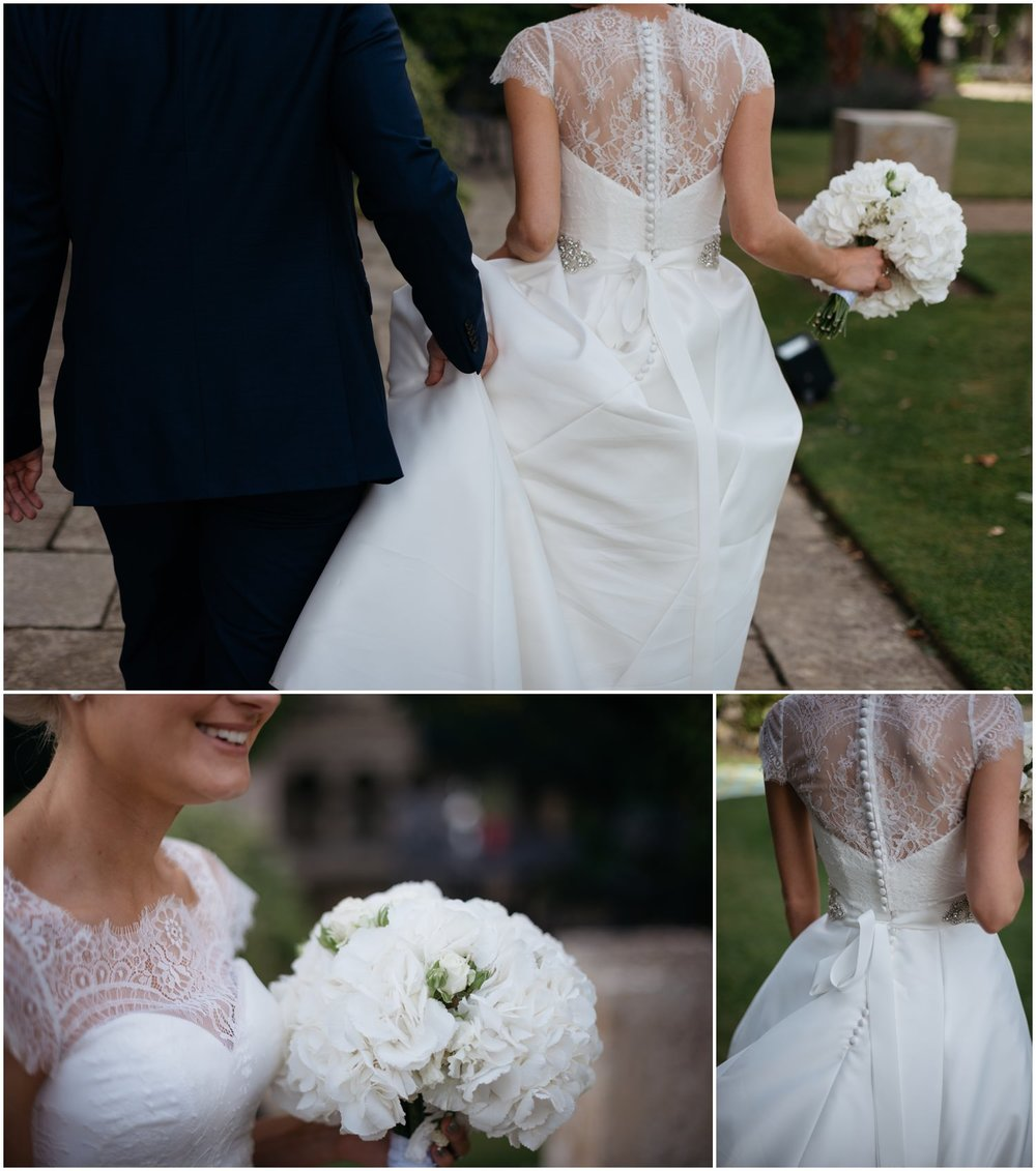 Burghley house wedding photos