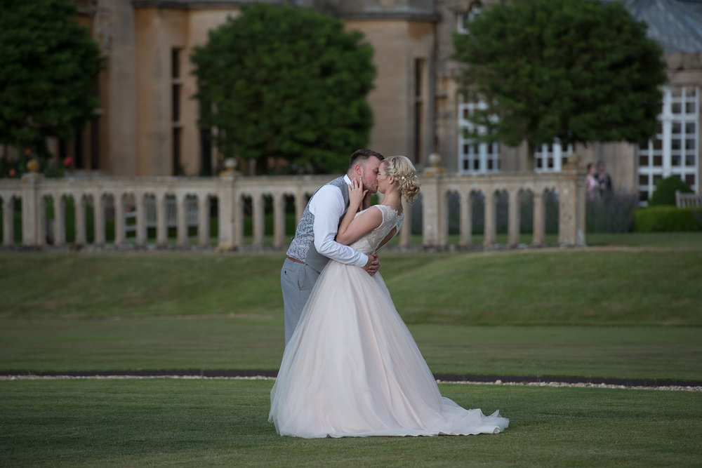 Wedding at Harlaxton Manor