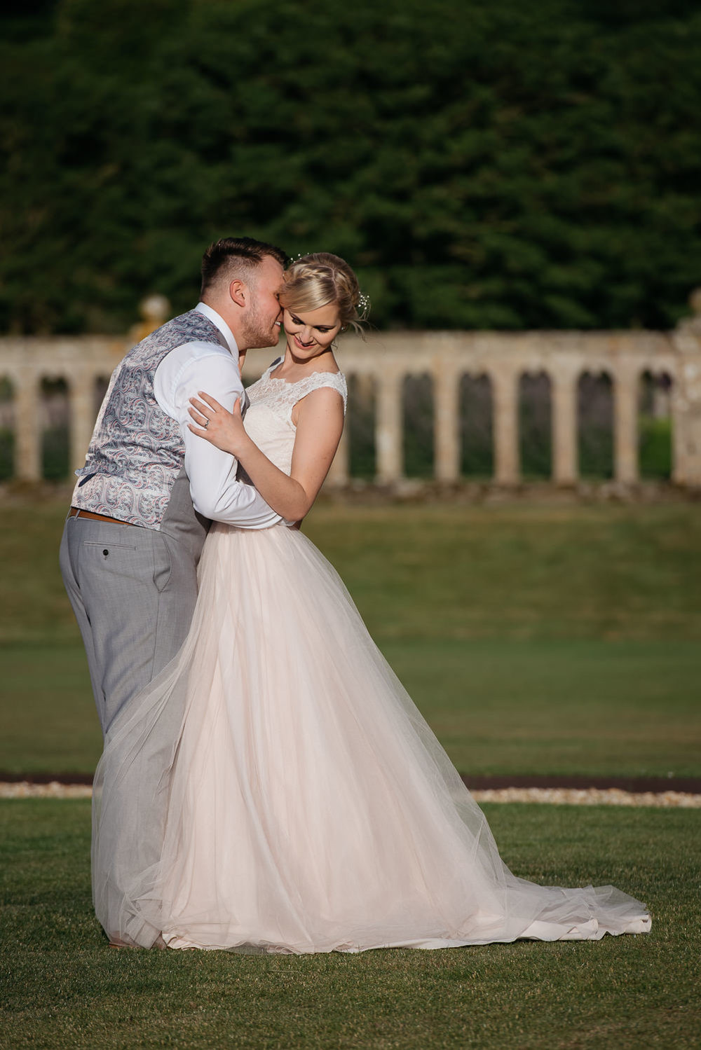 Harlaxton Manor wedding