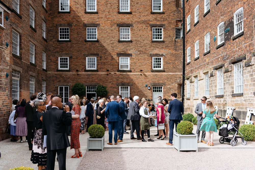 The West Mill Derby Wedding Photography